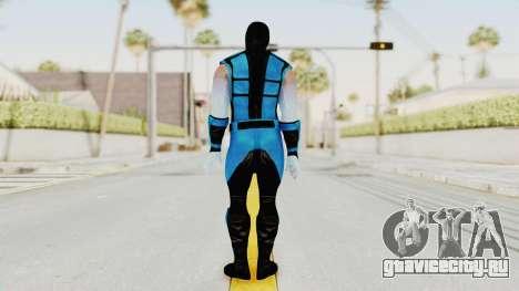 Mortal Kombat X Klassic Sub Zero UMK3 v2 для GTA San Andreas третий скриншот