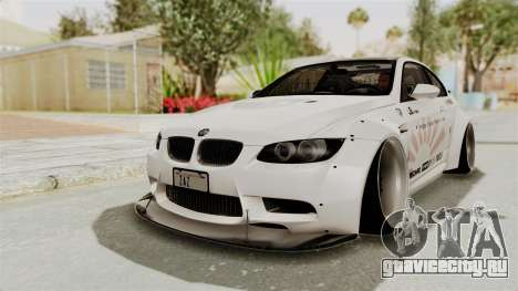 BMW M3 E92 Liberty Walk LB Performance для GTA San Andreas