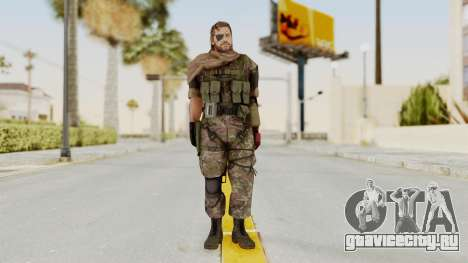 MGSV The Phantom Pain Venom Snake Scarf v6 для GTA San Andreas второй скриншот
