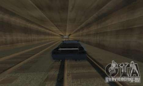 Стандартная Elegy с выдвижным спойлером для GTA San Andreas вид сбоку