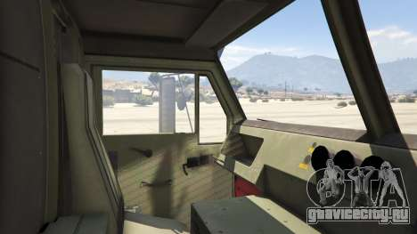 Heavy Expanded Mobility Tactical Truck для GTA 5 вид сзади справа
