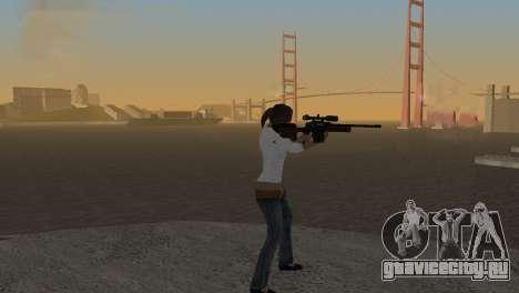 VIP Sniper Rifle для GTA San Andreas второй скриншот