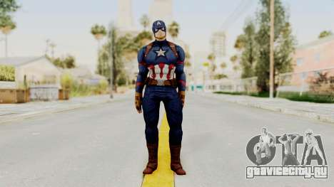 Captain America Civil War - Captain America для GTA San Andreas второй скриншот