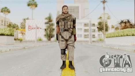 MGSV The Phantom Pain Venom Snake Sc No Patch v3 для GTA San Andreas второй скриншот