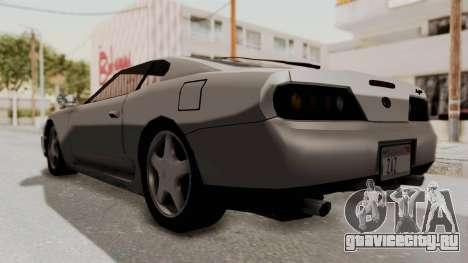 Jester Supra для GTA San Andreas вид справа