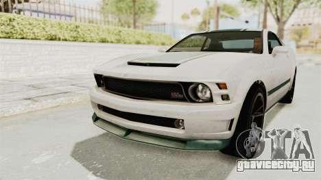 GTA 5 Vapid Dominator v2 SA Style для GTA San Andreas