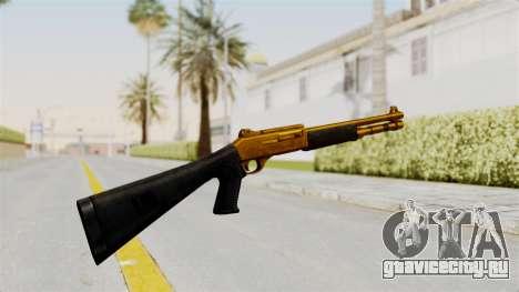 XM1014 Gold для GTA San Andreas второй скриншот
