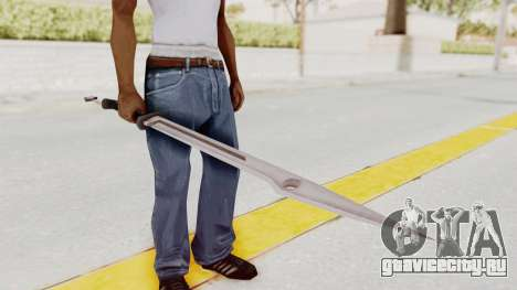 Saints Row 3 - Deckers Sword (Saints Style) для GTA San Andreas