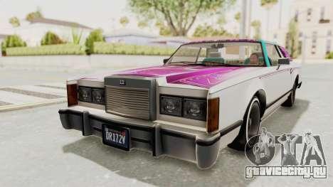 GTA 5 Dundreary Virgo Classic Custom v3 для GTA San Andreas колёса
