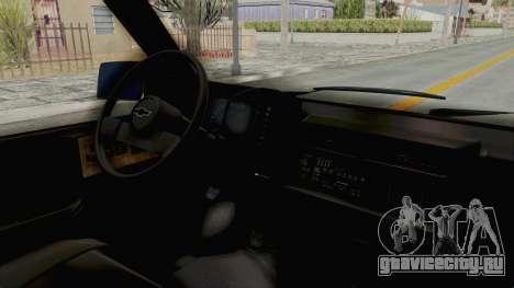 Chevrolet Astro 1988 для GTA San Andreas вид справа