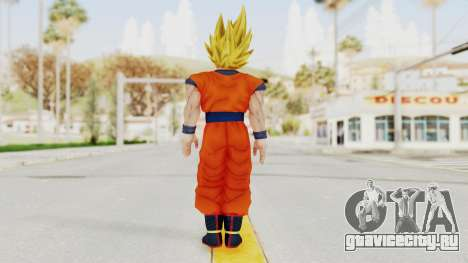 Dragon Ball Xenoverse Goku SSJ2 для GTA San Andreas третий скриншот