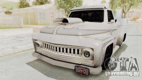 GTA 5 Slamvan Race PJ1 для GTA San Andreas вид сзади
