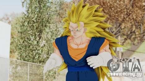 Dragon Ball Xenoverse Vegito SSJ3 для GTA San Andreas