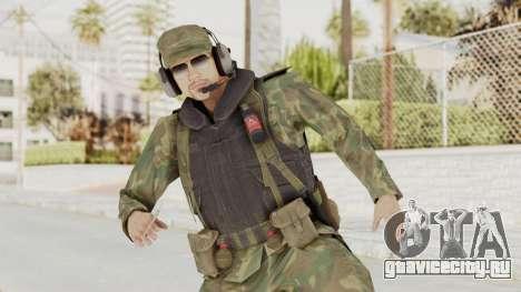 MGSV Ground Zeroes US Pilot v2 для GTA San Andreas