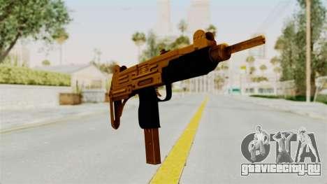 Uzi Gold для GTA San Andreas второй скриншот