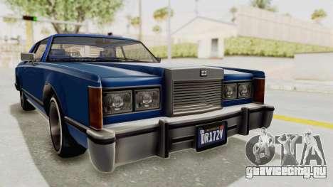 GTA 5 Dundreary Virgo Classic Custom v1 IVF для GTA San Andreas вид справа
