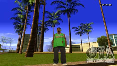 Colormod Easy Life by roBB1x для GTA San Andreas второй скриншот