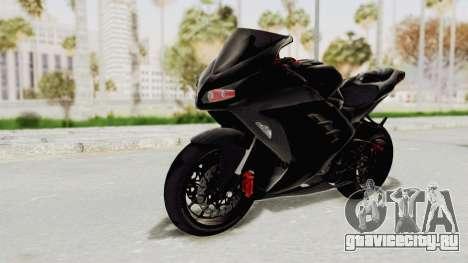 Kawasaki Ninja 300 FI Modification для GTA San Andreas вид справа