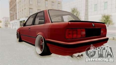 BMW M3 E30 Camber Low для GTA San Andreas вид слева
