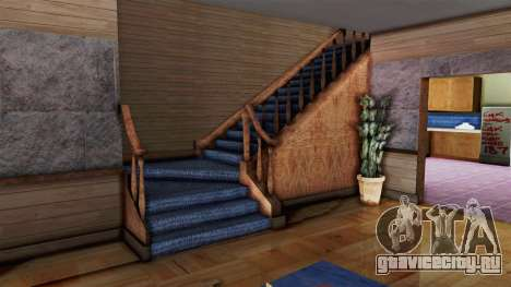 CJs House New Interior для GTA San Andreas второй скриншот