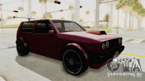 New Club Modification для GTA San Andreas вид справа