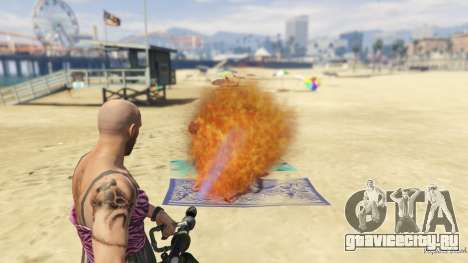 Real Flamethrower 1.5 для GTA 5