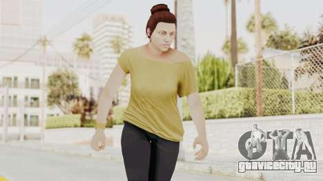 GTA 5 Online Female Skin 1 для GTA San Andreas