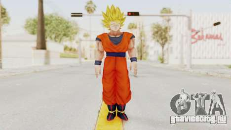 Dragon Ball Xenoverse Goku SSJ2 для GTA San Andreas второй скриншот