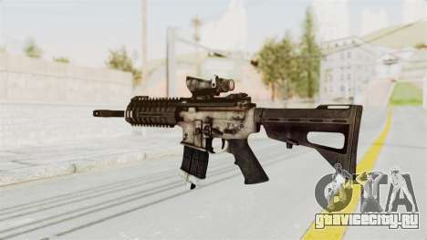 P416 для GTA San Andreas второй скриншот