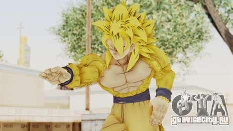Dragon Ball Xenoverse Goku SSJ4 Golden для GTA San Andreas