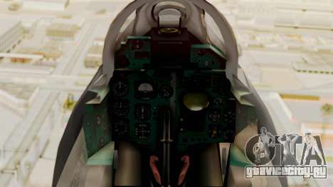 MIG-21 BIS Fuerza Aérea Argentina для GTA San Andreas вид справа