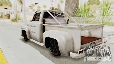 GTA 5 Slamvan Race PJ1 для GTA San Andreas вид изнутри