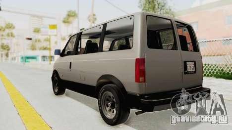 Chevrolet Astro 1988 для GTA San Andreas вид слева