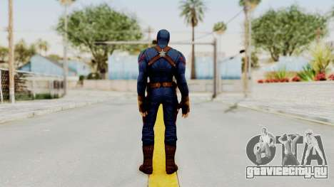Captain America Civil War - Captain America для GTA San Andreas третий скриншот