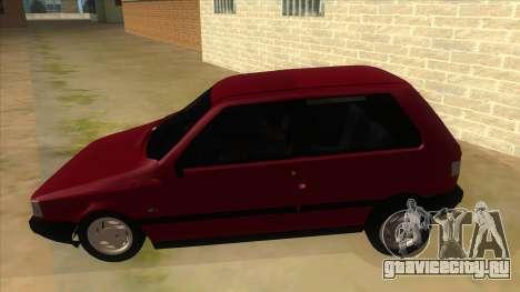 Fiat Uno S для GTA San Andreas вид слева