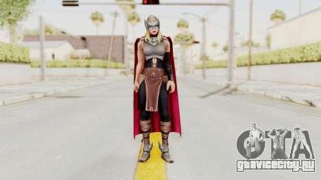 Marvel Future Fight - Thor (Jane Foster) для GTA San Andreas второй скриншот