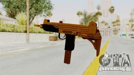 Uzi Gold для GTA San Andreas третий скриншот