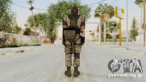 MGSV The Phantom Pain Venom Snake Animals для GTA San Andreas третий скриншот