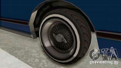 GTA 5 Dundreary Virgo Classic Custom v1 IVF для GTA San Andreas вид сзади