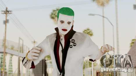The Joker from Suicide Squad Re-Textured для GTA San Andreas