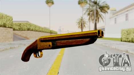 Sawnoff Gold для GTA San Andreas