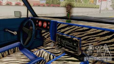 GTA 5 Dundreary Virgo Classic Custom v1 IVF для GTA San Andreas вид изнутри