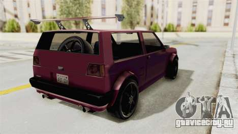 New Club Modification для GTA San Andreas вид сзади слева