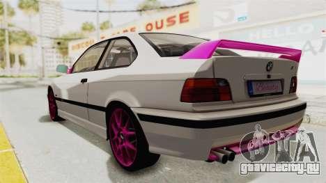 BMW M3 E36 Beauty для GTA San Andreas вид слева