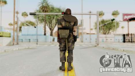 MGSV The Phantom Pain Venom Snake Scarf v4 для GTA San Andreas третий скриншот