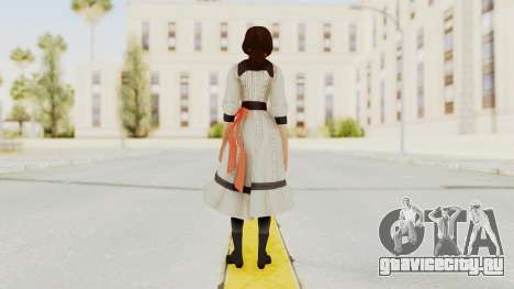Bioshock Infinite Elizabeth Young для GTA San Andreas третий скриншот