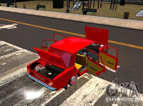 ВАЗ 21011 Заводской для GTA 4 вид изнутри