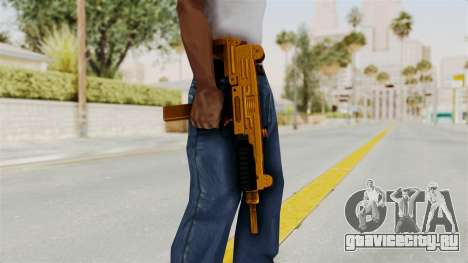 Uzi Gold для GTA San Andreas