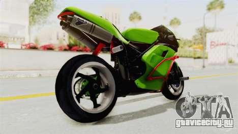 Ducati 998R Modif Stunt для GTA San Andreas вид сзади слева