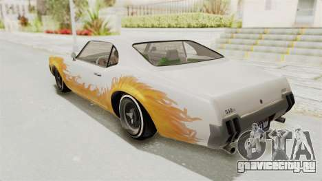 GTA 5 Declasse Sabre GT2 A для GTA San Andreas вид сверху